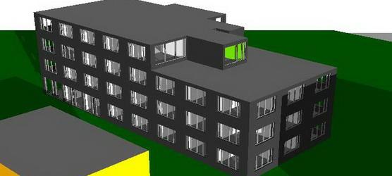 Simulation Bürogebäude BOB.Aachen